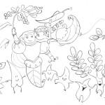 principessa delle foglie