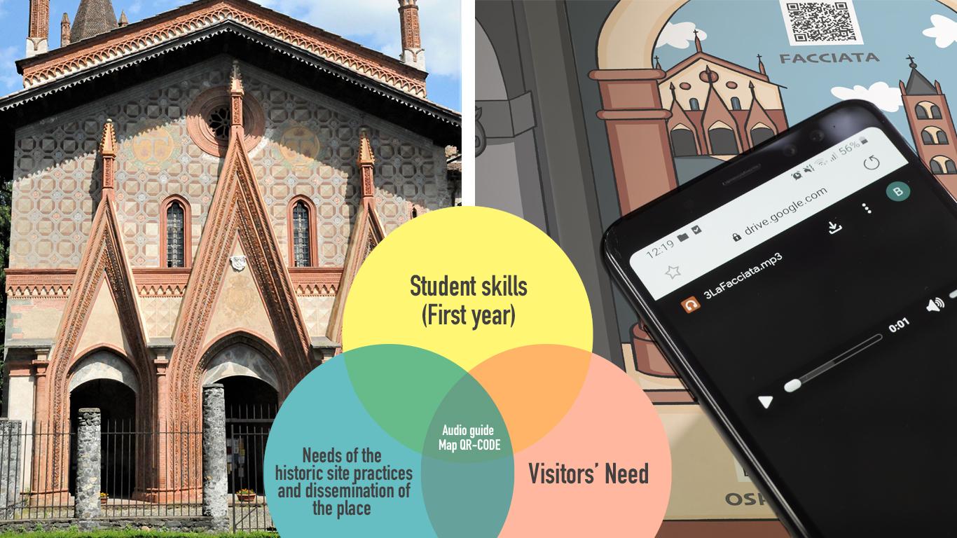 Immagine di copertina del progetto della libera Accademia D'Arte Novalia e di Sant'Antonio di Ranverso